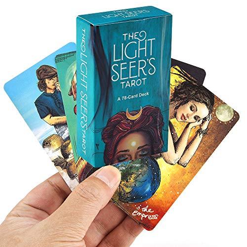 Licht Sehers Tarot 78 Karten, zurück in die Zukunft Brettspiel (englische Ausgabe)