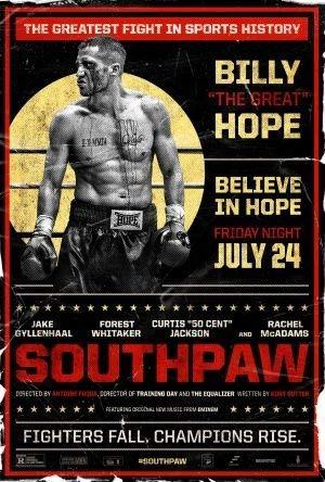 Southpaw - Jake Gyllenhaal - Film Poster Plakat Drucken Bild - 43.2 x 60.7cm Größe Grösse Filmplakat