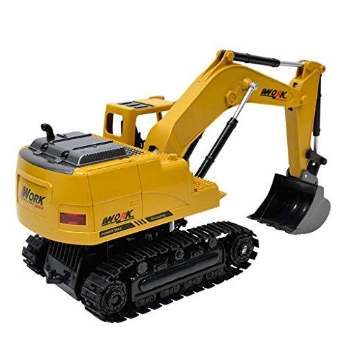 RC Baufahrzeug kaufen Baufahrzeug Bild 1: Fenteer 1:24 Ferngesteuerter Bagger RC Baufahrzeug Spielzeug mit Sound & Lichter Effekt*