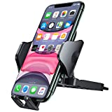 Andobil CD Phone Holder for Car, [Stay Put & Secure Hold] Heavy Duty Phone Car Holder for CD Player & Air Vent Compatible with iPhone 12 Mini Pro Max SE 11 X 8 Plus Samsung Galaxy Note 20 & More