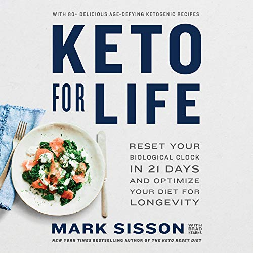 Keto for Life audiobook cover art