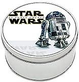 MasTazas Star Wars El Despertar De La Fuerza The Force Awakens BB-8 R2-D2 Caja Redonda Lata Round Metal Tin Box