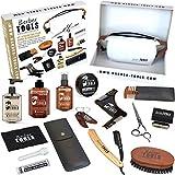 Kit/Set/Coffret d'entretien et de soin pour barbe avec Soin de barbier | Cosmetique Made in France  BARBER TOOLS