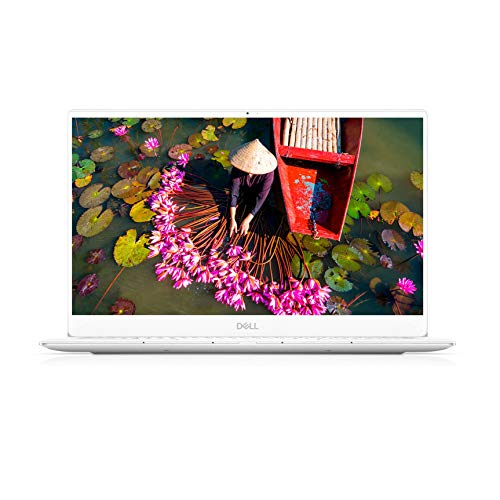"Dell XPS 13 7390 Intel Core i7 Ordinateur Portable Slim Ultra Leger 13,3"" Full HD Frost White 16Go de RAM SSD 512Go Intel UHD Graphics Windows 10 Home Clavier AZERTY Français"