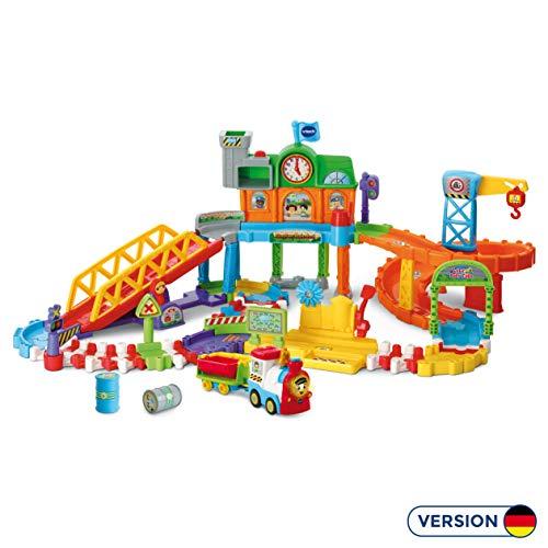 Vtech 80-521204 Tut Tut Baby Züge - Großer Bahnhof, Babyautos, Mehrfarbig