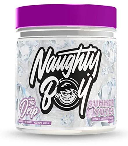 Naughty Boy The Drip - Comprehensive Fat Burner, Long Lasting Energy & Supreme Focus 200g (Summer Yutes)