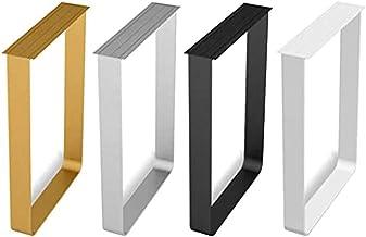 DIY tafelpoten X2, metalen meubelsteunpoten, gebruikt voor keukentafels, bartellers (Kleur: goud, afmeting: 70x70CM (twee ...