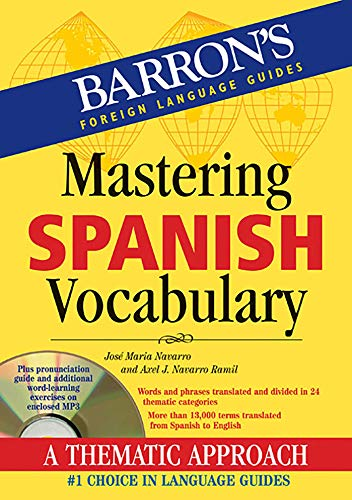Mastering Spanish Vocabulary with Audio MP3 (Barron's Vocabulary)