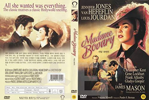 Madame Bovary (1949) Jennifer Jones Best Film / NEW DVD - NTSC, All Region