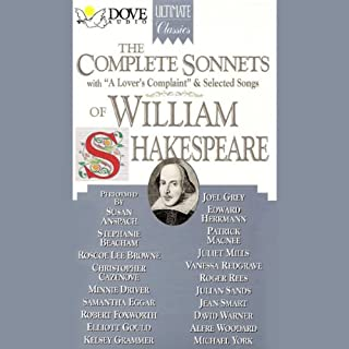 The Complete Sonnets of William Shakespeare cover art