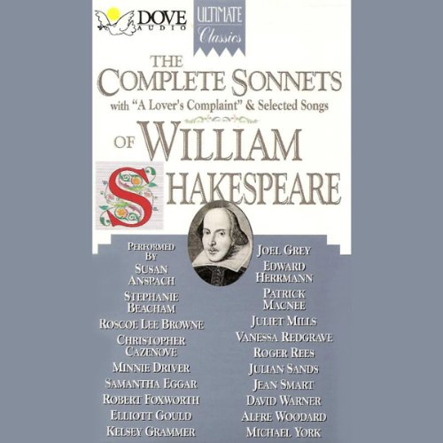 The Complete Sonnets of William Shakespeare  audiobook cover art