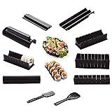 10 Unids/Set Diy Kit De Fabricación De Sushi Roll Sushi Maker Rice Roll Molde Herramientas De Cocina Sushi Herramientas De Cocina De Sushi Japonés