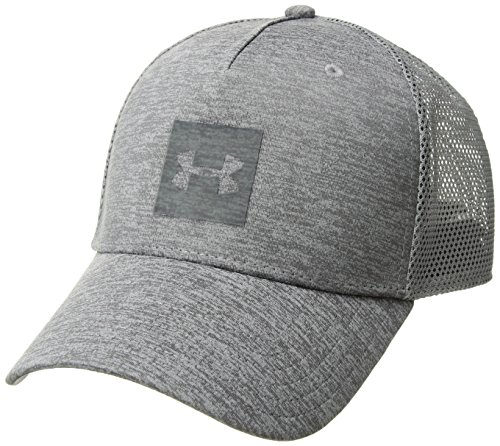 Under Armour Men's Closer Trucker 2.0 Cap, Graphite (040)/Stealth Gray, One Size Fits All