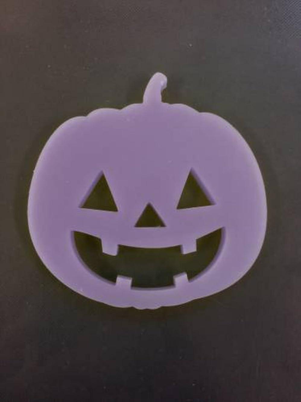 洞窟にレッドデートGRASSE TOKYO AROMATICWAXチャーム「ハロウィンかぼちゃ」(PU) ラベンダー アロマティックワックス グラーストウキョウ