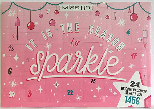 Misslyn Kosmetik Adventskalender 2019 It is the Season to Sparkle