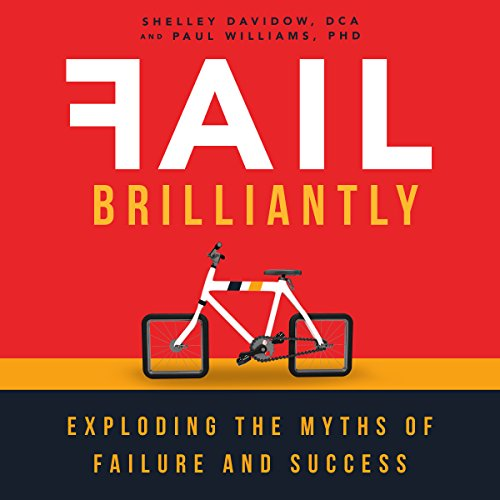Fail Brilliantly audiobook cover art
