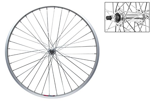 Wheel Master Front Bicycle Wheel 26 x 1.5 36H, Alloy, Bolt On, Silver, SS Spokes