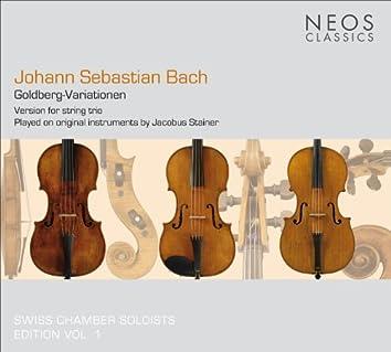 Bach, J.S.: Goldberg-Variationen (version for string trio by Dmitry Sitkovetsky)