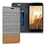 kwmobile Book Style Case Compatible with ZTE Blade V7 Lite