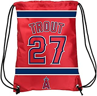 Los Angeles Angels Trout M.  27 Drawstring Backpack 924f4ce2d5327