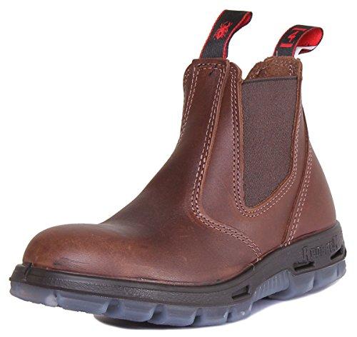 Redback Boots Chaussures Jarrah Boots en Cuir Marron Femme 40 Brown