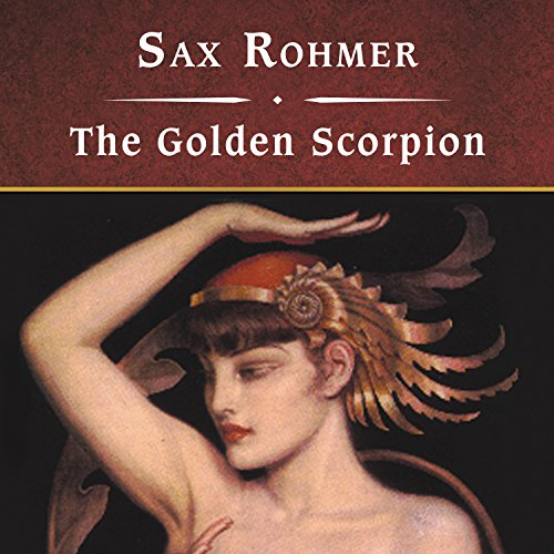 The Golden Scorpion audiobook cover art