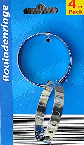 Global 2622 Rouladenringe 4er Set...