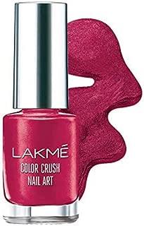 Lakme Color Crush Nailart, M5 Burgundy, 6 ml
