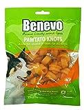 Juego de 4benevo veganas kauknochen para perros de süßkartoffeln 150g (No bio)