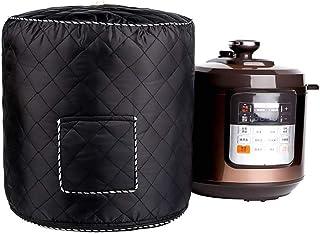 Welltobuy Cubierta de la Olla a presión Bolsa Protectora antiestática para los Utensilios de Cocina Bolsa de la Cubierta, Adecuada para 6 QT Instant Pot Model, Negro