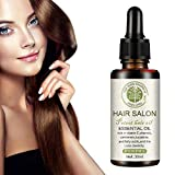 Hair Salon Essential Oil, 2020 Hair Care Premium Treatment Essential Oil- For Beautiful Hair & Healthier Scalp Soft and Light Care for Damaged Hair, Giving Shine and Gloss