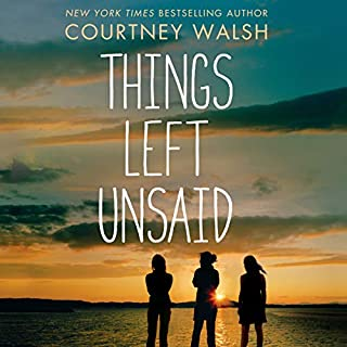 Things Left Unsaid                   By:                                                                                                                                 Courtney Walsh                               Narrated by:                                                                                                                                 Jess Nahikian                      Length: 11 hrs and 46 mins     39 ratings     Overall 4.6