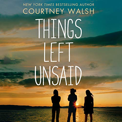 Things Left Unsaid audiobook cover art
