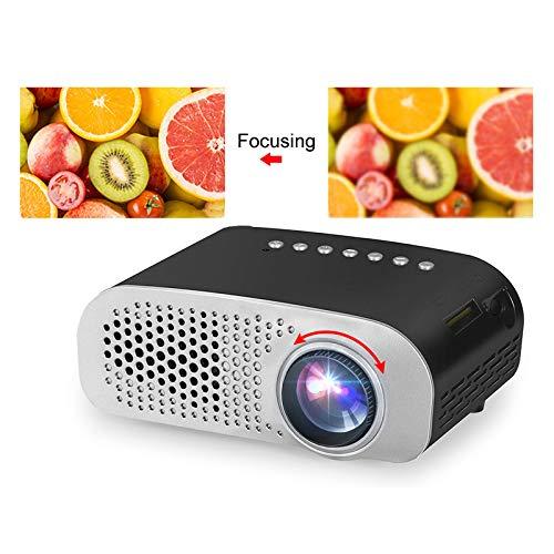 Projector, mini-led-projector, home beamer voor kinderen, 1920 x 1080p Hd Mini projector, ondersteuning SD Hdmi USB, meer dan 20.000 uur levensduur