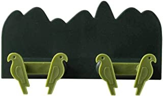 Fan-Ling Wall Plug Socket Hook,Wall Storage Hook,Multi-Function Hook, Charging Rack Shelf,Power Plug Socket Holder,Home Office Wall Adhesive Hanger for Keys,Phone,Plug,12 x 7cm (Green)