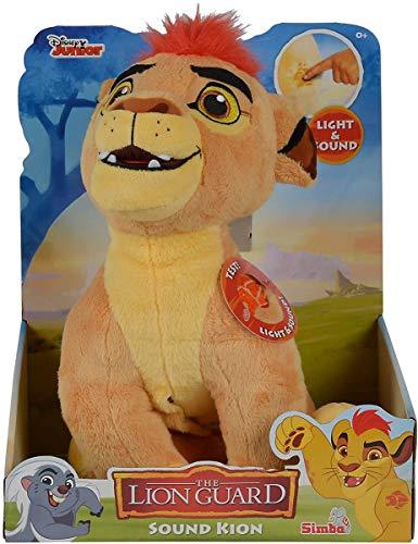 Simba 109316056 - Die Garde der Löwen Action Plüsch Kion