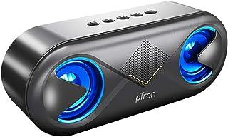 PTron Fusion 10 Watt 2.0 Channel Wireless Bluetooth Portable Outdoor Speaker (Black)