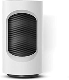 HKDJ-600W Escritorio PTC Cerámica Calefactor con Viento Caliente Y Frío,Calentamiento Rápido,Ultra Tranquilo para Uso De Oficina Y Hogar 12 * 12 * 21.9CM,Blanco