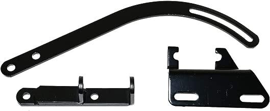 ZaZaTool Black Small Block Alternator Bracket Fits Chevy SWP SBC 283 327 350 Short Water Pump