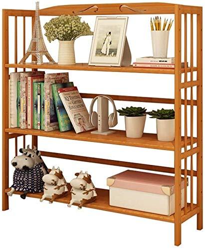 Wddwarmhome Tallador de Zapatos de bambú, Caja de Banco de Zapatos de 3 Capas de 3 Capas Hecho de bambú 100% Natural, Capacidad de Carga máxima hasta 20 kg (Size : 78 * 25 * 96cm)