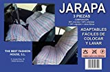 The Best Fashion House Jarapa harapa 3 Piezas Funda Asiento Coche Universal