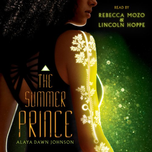 The Summer Prince audiobook cover art
