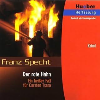 Carsten Tsara - Der rote Hahn Titelbild