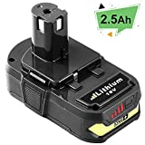 Replacement for Ryobi 18V Lithium Battery for Ryobi Battery 18V Lithium ONE+ P104 P105 P102 P103 P107 Cordless Tools