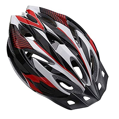 Shinmax Bike Helmet, CPSC Safety Certified Bicycle Helmet for Men/Women with Detachable Sun Visor&Portable Bag Lightweight Cycling Helmet Adjustable Size for Adult Mountain Road Biking