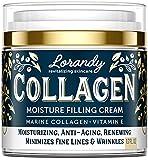 Collagen Night Cream Face Moisturizer - Anti-Wrinkle Cream For Face - Anti Aging Cream - Facial Skin Care Products - Skin Tightening Cream for Face - Moisturizer For Sensitive Skin