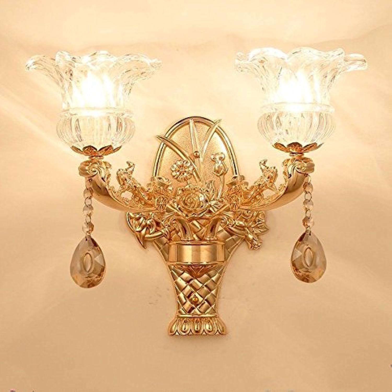 StiefelU LED Wandleuchte nach oben und unten Wandleuchten Wohnzimmer Wand Lampen Zinklegierung Crystal Jade Schlafzimmer Bett Wandleuchte hotel Lobby 36