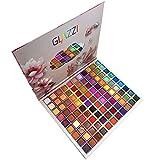 Paleta de sombras de ojos de 99 colores paleta altamente pigmentada impermeable paleta de brillo vegano brillo brillo pigmentado paleta de maquillaje de pintura con brillo de colores