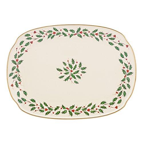 "Lenox Holiday 15"" Oblong Serving Platter"