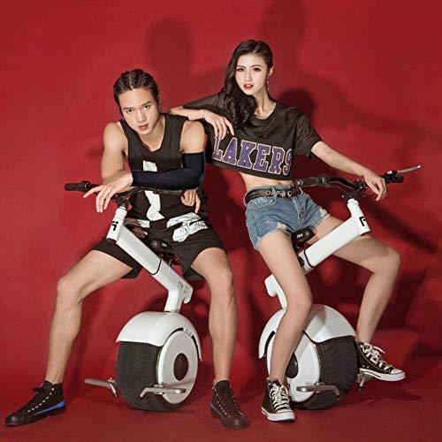 RUIMA Selbstausgleichendes elektrisches Einrad - Elektroroller mit einem Rad, Zugstange, zusammenklappbare Fußstützen*